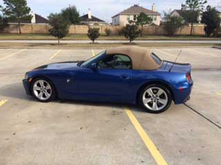 07 BMW Z4 3.0i Convertible For Sale