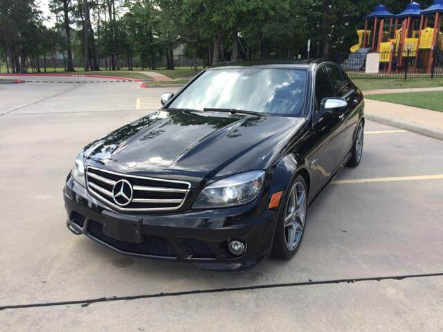 2009 mercedes benz c63 amg for sale houston texas good deal. Black Bedroom Furniture Sets. Home Design Ideas