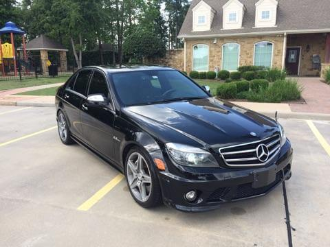 2009 mercedes benz c63 amg for sale houston texas good deal for Mercedes benz for sale in houston