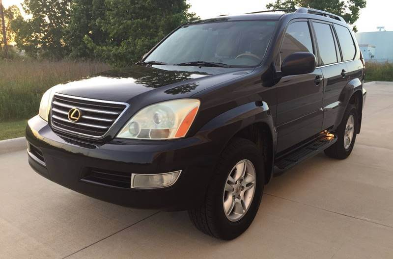 2007 lexus gx 470 for sale luxury family suv for off road towing. Black Bedroom Furniture Sets. Home Design Ideas
