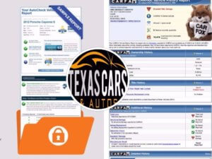 Get A CarFax or Autocheck Report