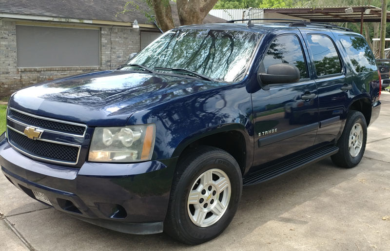 07 chevy tahoe for sale 8500 cash ttl financing available. Black Bedroom Furniture Sets. Home Design Ideas
