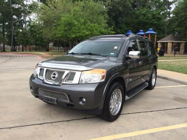 2008 Nissan Armada SE For Sale Houston