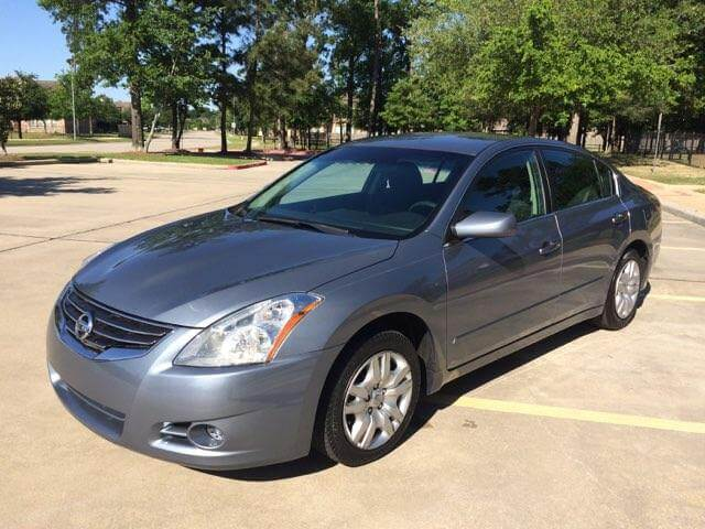 2012 nissan altima for sale in houston we finance. Black Bedroom Furniture Sets. Home Design Ideas